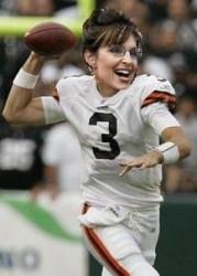 Sarah Palin, Cleveland Browns