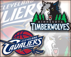 Cavaliers vs Timberwolves