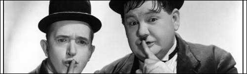 Laurel and Hardy, Shh