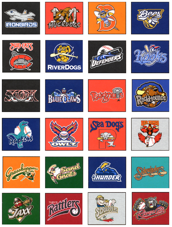 No Restrictions: The Best Minor League Logos | Waiting For ...