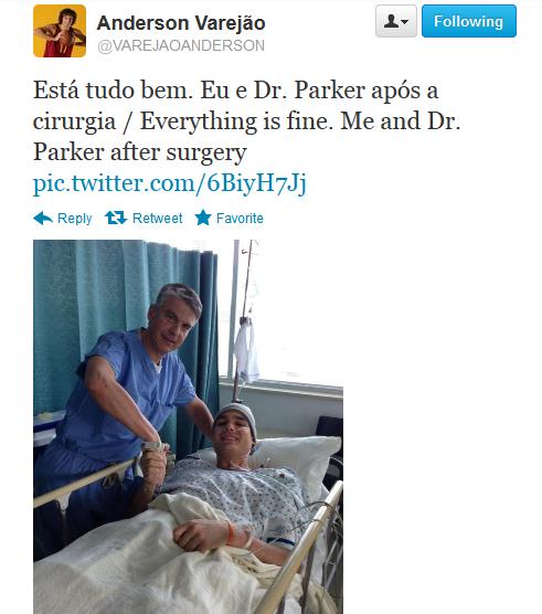 Varejao tweet