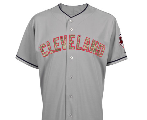 0496b978b Indians expected to wear camouflage-themed uniforms on Memorial Day ...