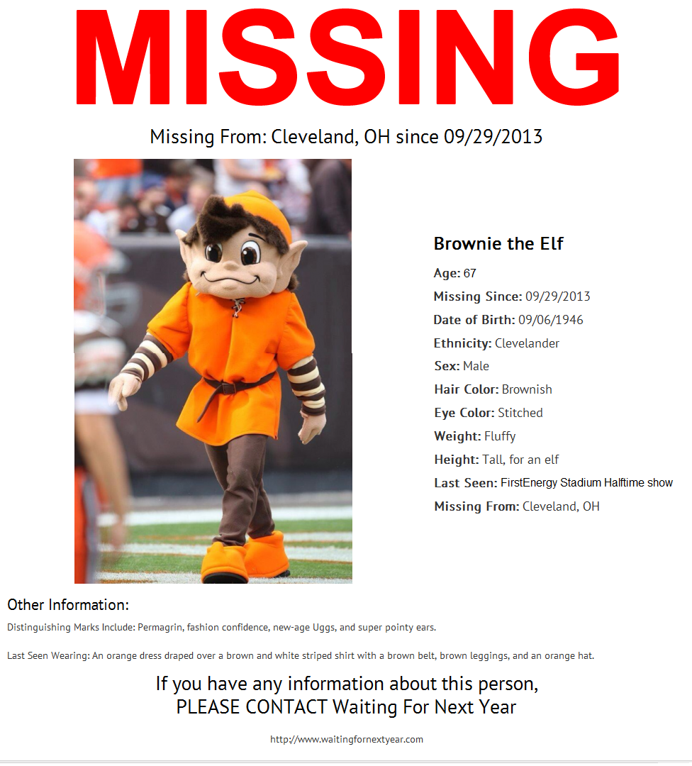 have you seen brownie the elf waiting for next year