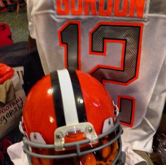 huge selection of 99af3 8b5a0 Uniwatch: Josh Gordon's Pro Bowl uniform, complete with ...