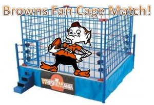 Browns Fan Cage Match