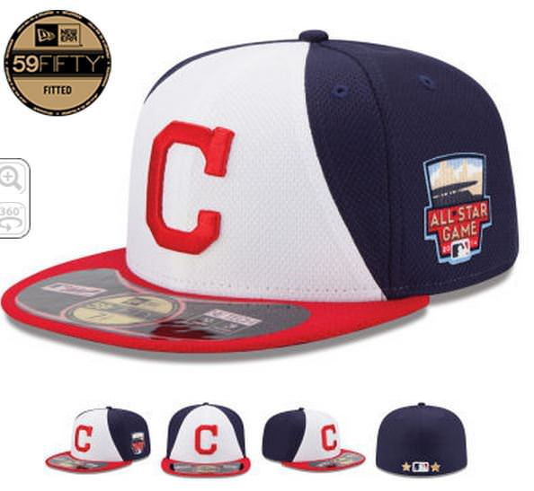 New Era Cleveland Indians All-Star game hat looks bad  d485c5a72364