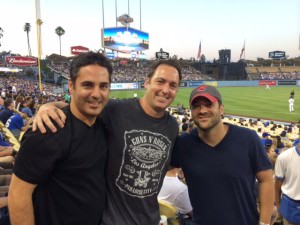 Great to hang with old friends...not so great watching our team lose