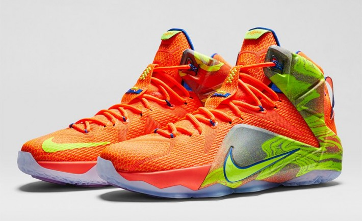 1307b828c88f Nike LeBron 12 LeBron James Six Meridians