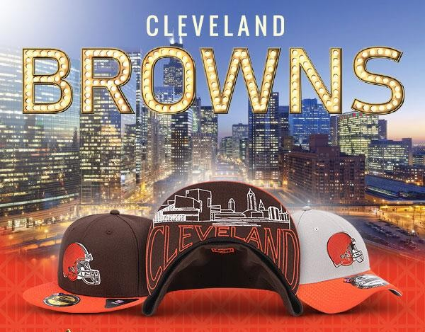 165d580e593 Browns draft day hats released (feat. Cleveland s skyline)