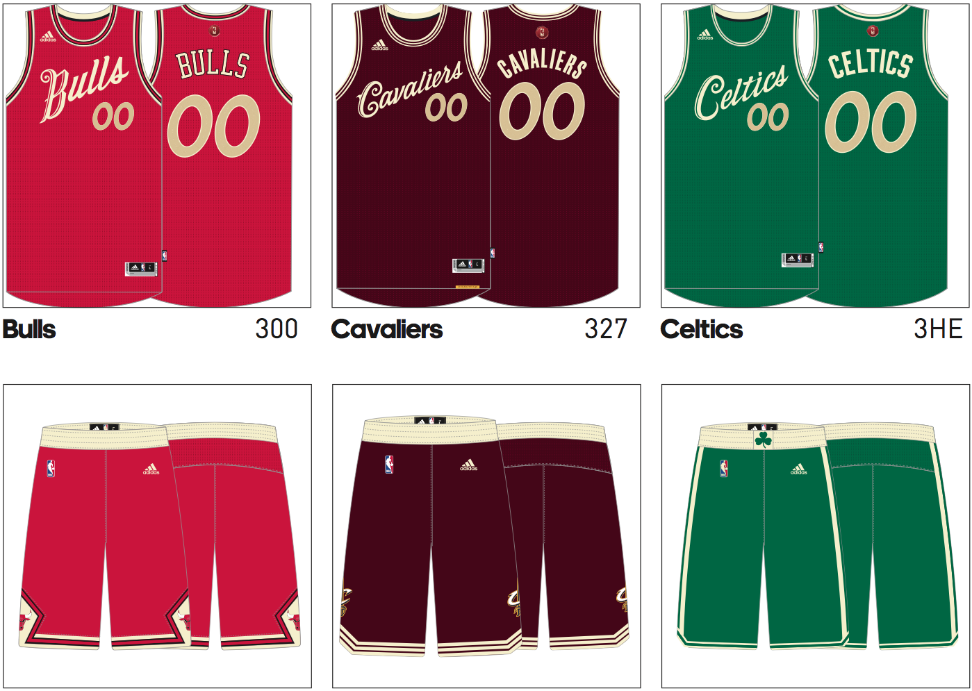 Cavs new Christmas uniforms revealed   Waiting For Next Year