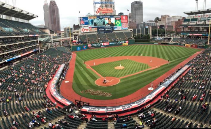 Cleveland Indians Progressive Field Attendance
