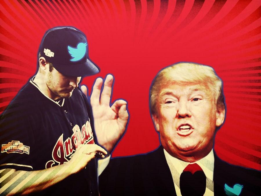 Donald Trump Trevor Bauer Twitter