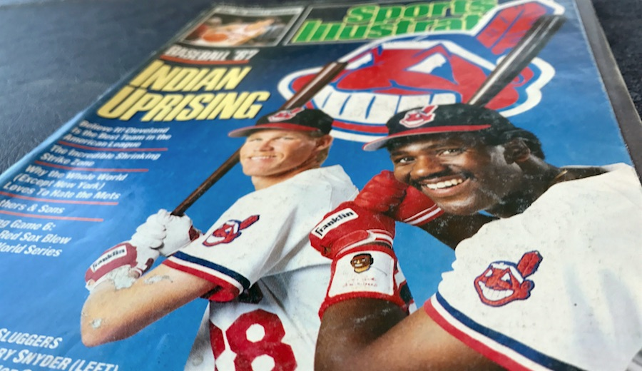 1987 Sports Illustrated Indians