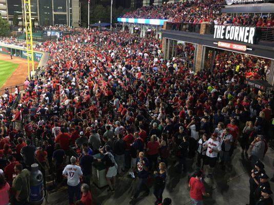 Cleveland Indians Progressive Field The Corner