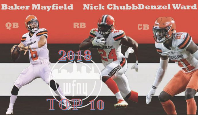 a03acfd1a Browns rookies show promise  Top Stories of 2018 – No. 6